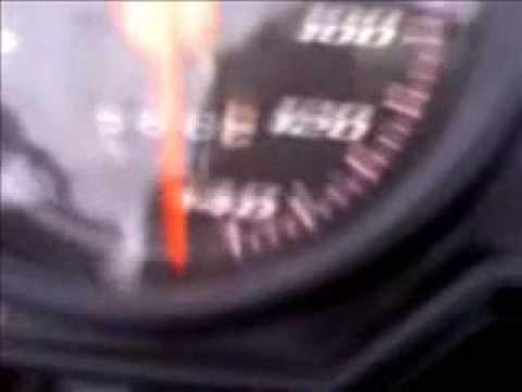 Pega de moto titan 150 vs Factor 125 160 km h