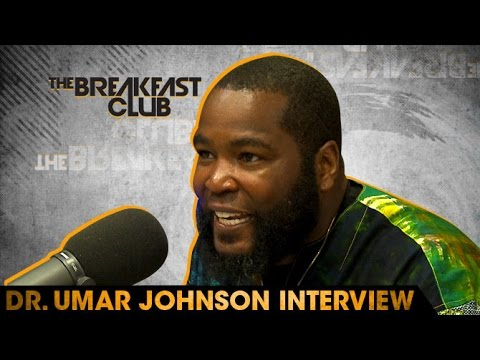 Umar Johnson Interview With The Breakfast Club 7 18 16
