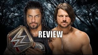 WWE Payback 2016 full show review, results, and highlights