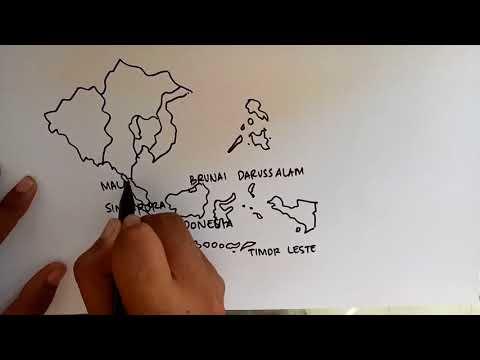 Xxx Mp4 Menggambar Peta Asia Tenggara ASEAN 3gp Sex
