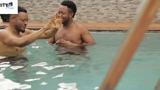 Latest NollyWood Movies Clip - Pool Fun