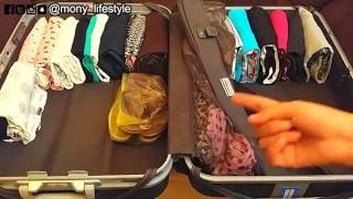 تحضير حقيبة السفر بسرعة وسهولة للمرأه والرجل وكل ما تحتاجونه أثناء السفر | Mony LifeStyle