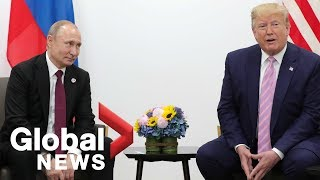 Trump tells Putin at G20 summit: Don