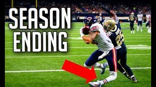 NFL Injuries While Scoring a Touchdown || HD