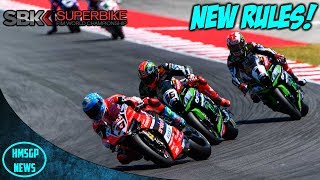 World Superbike News: New Rules for 2018!