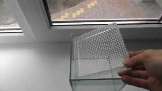 Сепараторная сетка для аквариума своими руками