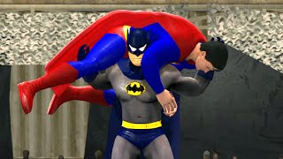 BATMAN VS SUPERMAN - EPIC BATTLE - WWE 2K15