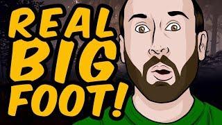 BIGFOOT CAUGHT ON TAPE! - Finding Bigfoot