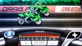 Drag Racing Bike Edition: How To Tune A Level 9 Ninja 1400 6.825s 1/4 Mile!