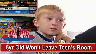 5yr Old Refuses To Leave Teen Brother