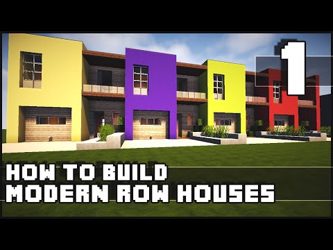 Minecraft lets build small modern house 18x18 lot for Modern house 18x18