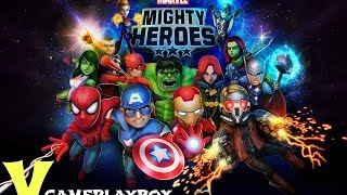 Marvel Mighty Heroes (By DeNA Corp) iOS / Android Gameplay Video