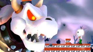 New Super Luigi Bros Wii All Castles (MLG Luigi VS Koopalings and Evil Dry Bowser)