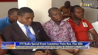 ITV/Radio Special Event Committee Visits Hon. Pius Alile Coalition Initiative