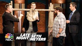 Corbin Maxey Brings Animals to Seth, Taran Killam and Bobby Moynihan