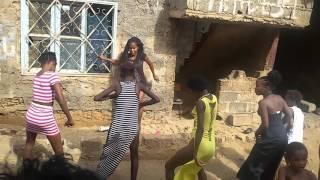 Bailando quadradinho desde caboverde