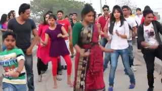 ICC T20 Bangladesh 2014 Flash Mob Khilkhet,Dhaka