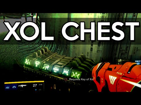 Mysterious Chests Locations | Key of XOL Chest (The Taken King)