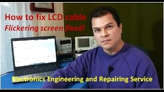 How to fix flickering LCD screen