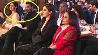 Kajol & Ajay Devgn completely IGNORE Rani Mukherjee at an awards show!