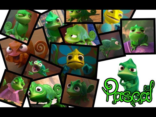 Tangled - Pascal's Best Moments