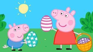 Peppa Pig EASTER EGGS 🐤🥚🐰 Learn with Peppa Pig