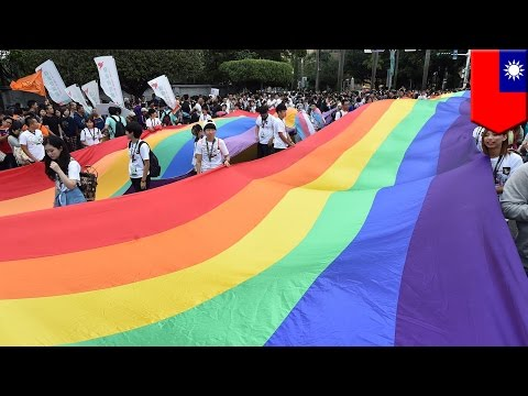 Taiwan same-sex marriage: Taiwan could be first in Asia to recognize gay marriage - TomoNews