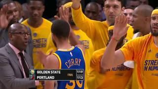 Golden State Warriors vs Portland Trail Blazers- April 22, 2017