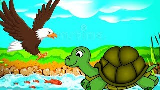 Aesop's fables - The Tortoise & the Eagle, Dancing Monkeys & More Animated Cartoons