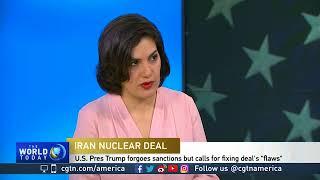 Negar Mortazavi on the Iranian reaction to new U.S. sanctions