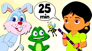 Vanavil And More Songs For Kutties | 25+ Minutes Compilation | Chellmae Chellam | Best Tamil Rhymes