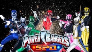 Power Rangers SPD Full Team (Fan Art)