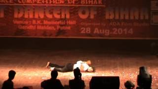 the best dancer of bihar 2014 winner  rakesh raj