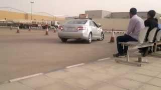Dallah Driving School Riyadh Saudi Arabia Parallel Parking Test