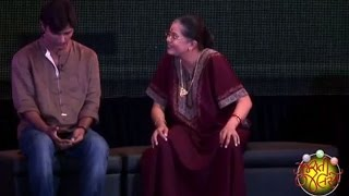 Jigna Vyas, Saumya Joshi in Welcome Zindagi (Gujarati Drama)   Gujarati Jalso