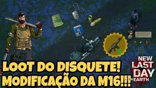 ENFIM MODIFICANDO M16, LOOT DO DISQUETE!!! + PARADA DE DESCANSO!!! Last Day On Earth