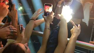 """Tyga performing live """"Stimulated"""" and """"Ice-cream man"""" at Space Club Florence Italy 14/11/2017"""