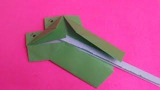 Origami Frog Mouth - Origami mulut katak - Оригами лягушка рот