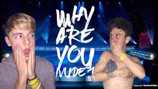 GETTING NAKED... ON STAGE?! 😵