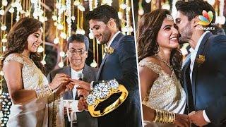 Official : Naga Chaitanya and Samantha engaged | Hot Tamil Cinema News