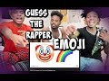 GUESS THAT RAPPER🔥 FROM THE EMOJIS🤔👀 ! LOSER DOES EXTREME PUNISHMENT!😳