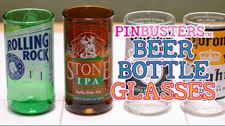 How To Make Beer Drinking Glasses From Beer Bottles // DOES IT WORK?
