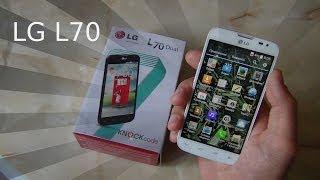 LG L70, dual SIM. Свежий Обзор / Арстайл /