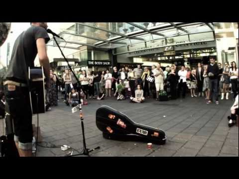 Passenger The Sound of Silence Busking Rundle Mall