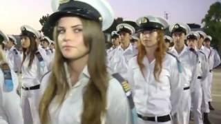 Israeli Navy school graduation (IDF Israel Defense Forces Israeli soldiers women girls israeli army)