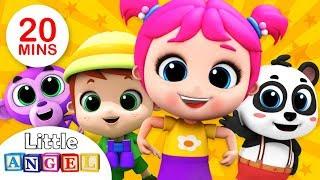 Baby Goes to Sleep | Brother John | Most Popular Kids Videos & Nursery Rhymes by Little Angel (VOL2)