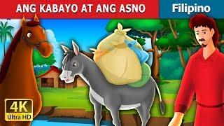 ANG KABAYO AT ANG ASNO | Kwentong Pambata | Filipino Fairy Tales