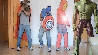 parodia spiderman en los vengadores 3 parody