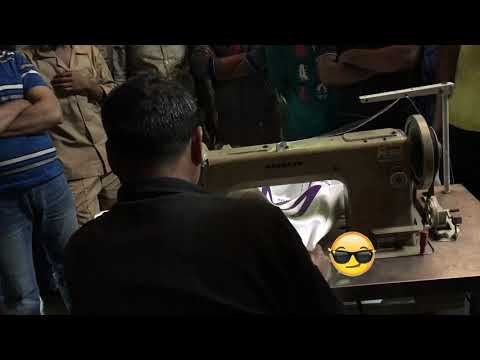 Xxx Mp4 Saudi Arabia Customer 39 S Workers Learning Operation CL F120 Bag Sewing 3gp Sex
