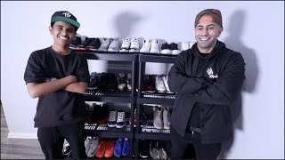 FOUSEYTUBE 50,000 THOUSAND DOLLAR SNEAKER COLLECTION !!!